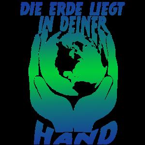 Erde in deiner Hand Klimaschutz