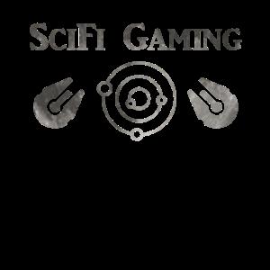 SciFi Gaming Spaceship Moon - Gaming