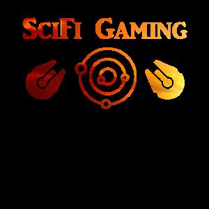 SciFi Gaming Spaceship Evening Sun - Gaming