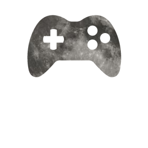 Gaming Controler on Moon - SciFi and Space Motives