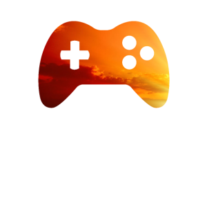 Gaming Controler Evening Sun SciFi and Space Motiv
