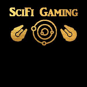 SciFi Gaming Spaceship Gold - Gaming