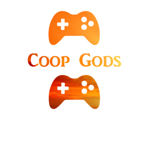 Coop Gods with Controlers in Evening Sun - Gaming