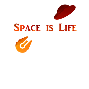 Space is Life Evening Sun - Gaming
