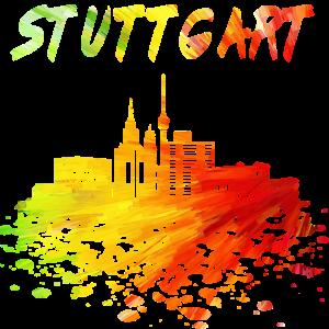 Stuttgart Skyline / Schwaben Stadt Schwarzwald
