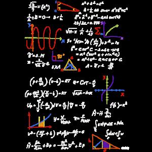 Mathelehrer Formeln Mathe Physik