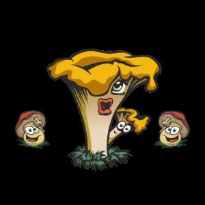 Pilzsammler Shirt - einfach
