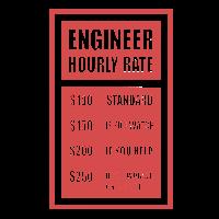 Engineer Hourly Rate Ingenieur