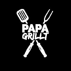papa grillt