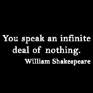 William Shakespeare, Zitat, Quote, Englisch Hamlet