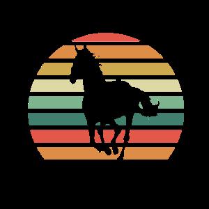 Pferd Retro