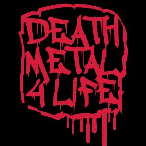Death Metal 4 Life Graffiti