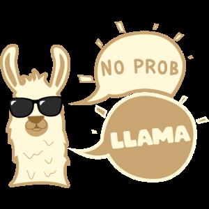 No Prob Llama Lama Funny Geschenk
