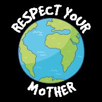 Umweltschutz Mutter Erde Natur Spruch Geschenk