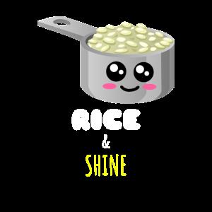 Reis und Glanz Nettes Reis-Wortspiel