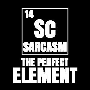 Science Pun Sarkasmus das perfekte Element STEM