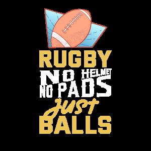 Rugby - No Helmet Just Balls