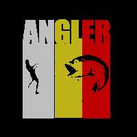 Angler Sportfischer Angeln Fishing Angelturnier