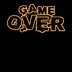 Game Over Lustiges Gamer Shirt