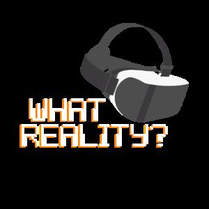 Virtual Reality Cooles Virtuelle Realität Shirt