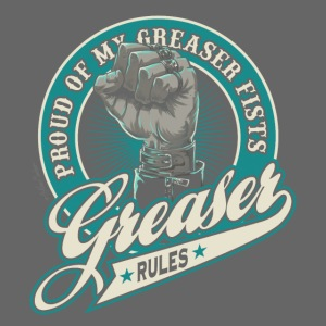 greaser fists unido negra