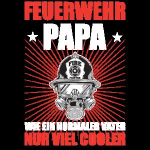 Papa Feuerwehr Geschenkidee Vater Sohn Tochter