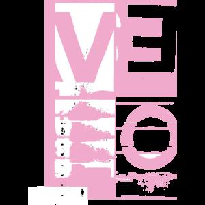LOVE (pink/white)