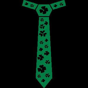 Kleeblatt Krawatte, St. Patrick's Day Krawatte