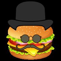 Gentleman Burger - Lustig - Hipster Humor