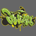 Mesk 2Wear graffiti style Green ver02