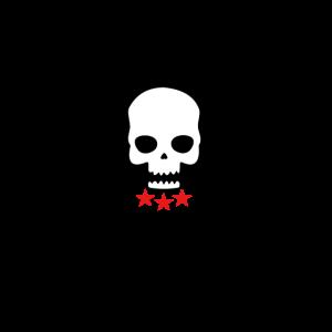 Schädel Redstar