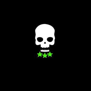 Schädel Greenstar