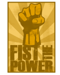 Motif FIST THE POWER
