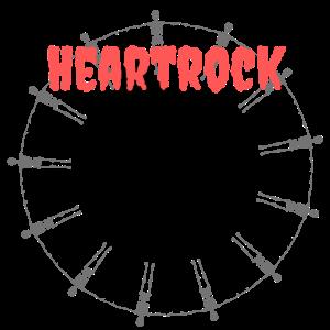 Heartrock, Hardrock Shirt, Geschenk, Geschenkidee
