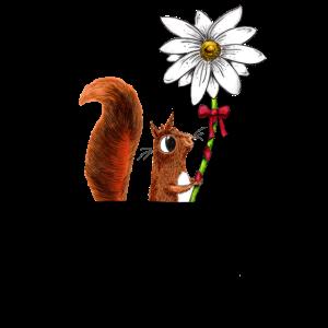 Das Hörnchen in der Brusttasche / Hemdtasche