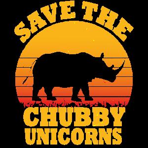 Nashörner Einhorn Tierschutz Umweltschutz Geschenk