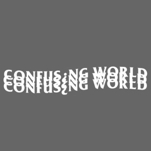 Tripple Logo- Confusing World