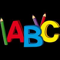 ABC Motiv, ideal zum Schulanfang / Einschulung