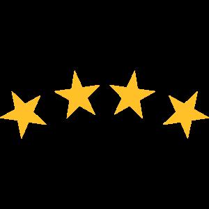 4 Sterne - Bogen