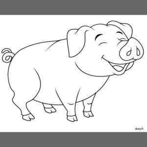 Cochon de lait anime.