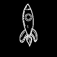 Rakete Raumfahrt Kinder Geschenk Idee