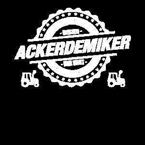 Ackerdemiker Bauer Landwirt Traktor Geschenk