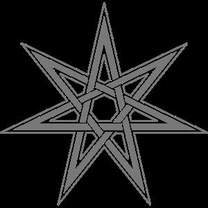 Feenstern, Elfenstern, Siebenstern, Wicca, Pagan