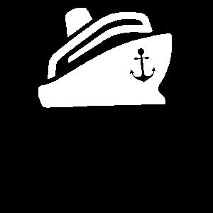 Kreuzfahrt T-Shirt mit Anker