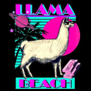 Llama Beach