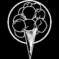 Eis Eiscreme Waffeleis Sommerurlaub Geschenkidee