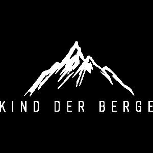Kind der Berge - Geschenkidee für Bergliebhaber