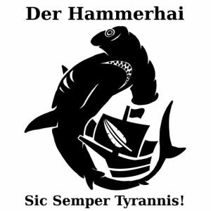 hammerhai schwarz