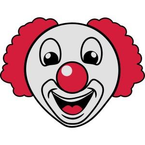 Clown lachen lustig