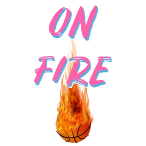Basketball on fire Miami